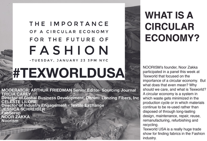 THE IMPORTANCE OF A CIRCULAR ECONOMY FOR THE FUTURE OF FASHION