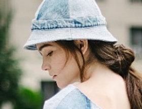 Lara Hat Medium Denim