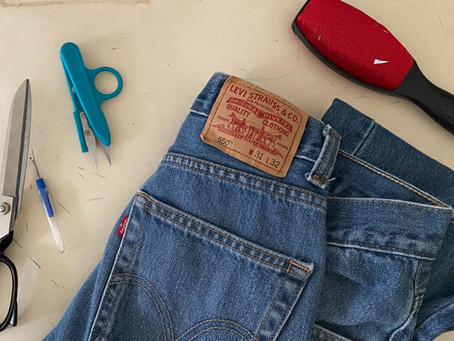 Top 4 Tools for Upcycling Jeans