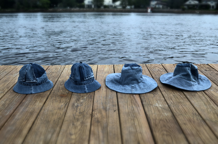 The Upcycled Denim Summer Hat Collection Is Here!