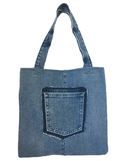 Tote Bag Medium Denim