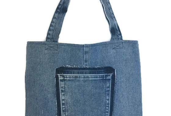 Tote Bag Medium Denim