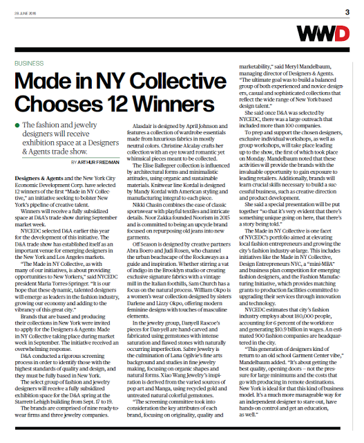 MADE IN NY COLLECTIVE CHOOSES NOORISM