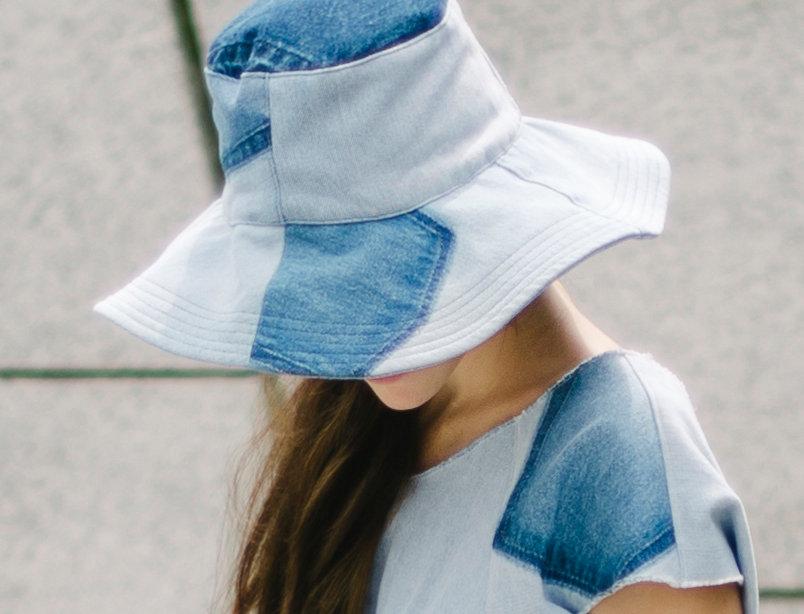 Audrey Hat Light Denim