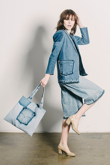 Tote Bag Light Denim