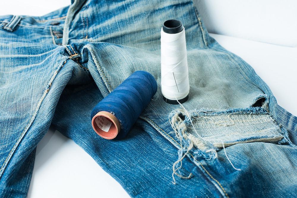 Start a clothing repair business
