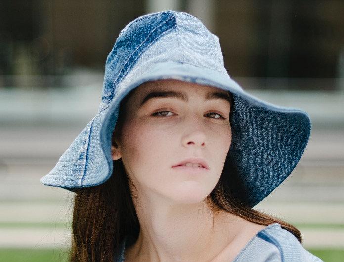 Audrey Hat Medium Denim