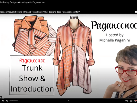 Upcycle Sewing Designs Workshop with Paganoonoo