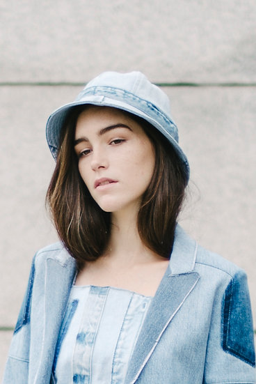 Lara Hat Light Denim