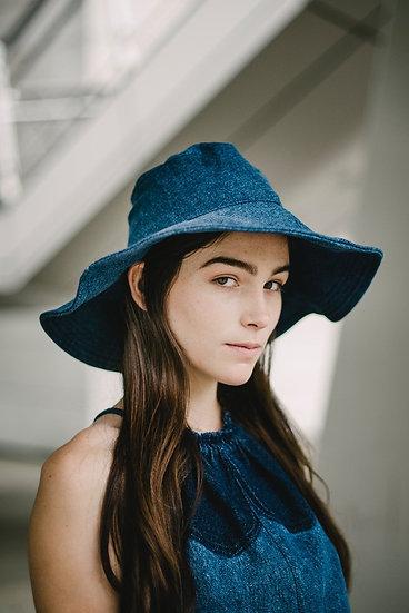 Audrey Hat Dark Denim
