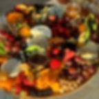 Late Autumn Harvest Cheese Board  @winda