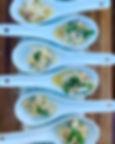 Monterey Halibut Ceviche Aji Amarillo /