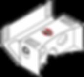 cardboard goggles blueprint with logo.pn