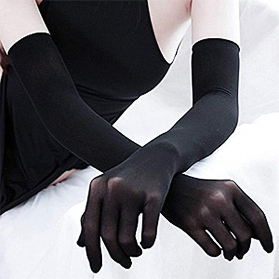 Rich Bitch Sheer Gloves