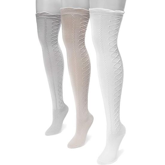 Snow Grey Socks 3 Pack