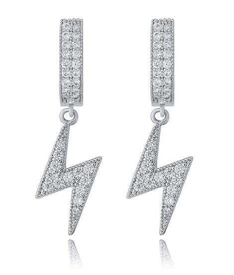 Cuban Bolt Earrings