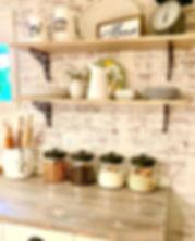 Lovin our new basement kitchen makeover!
