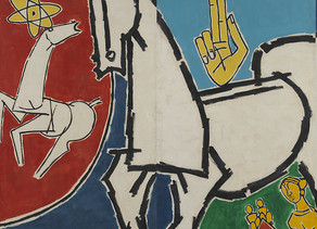 Asia Society Museum in New York presents M.F. Husain: Art and the Nation