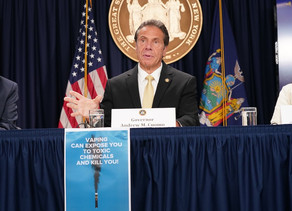 Governor Cuomo Announces New York's Law to Raise Tobacco and E-Cigarette Sales Age from 18 to 21