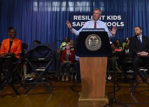 Mayor de Blasio, First Lady McCray, Chancellor Carranza Announce Major Expansion of Social-Emotional