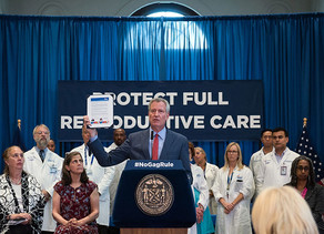 To Protect Access to Abortion at Nation's Largest Public Hospital System, Mayor de Blasio and NY