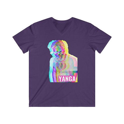 Yanga Men's Fitted V-Neck Tee