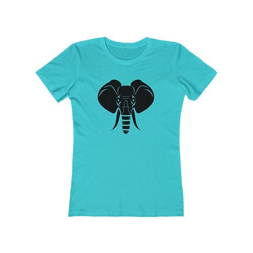 Black Elephant ImpacTee | Elephant Head Collection for Women