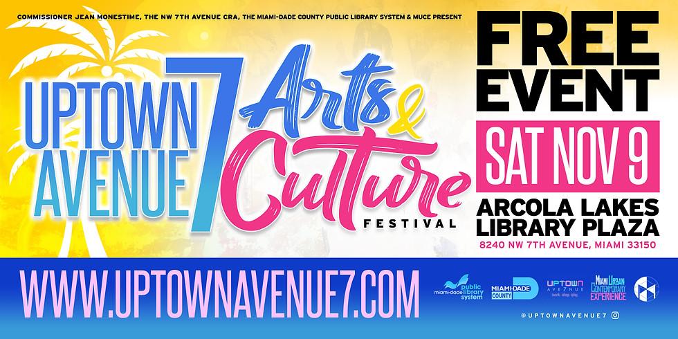 3rd Annual Uptown Avenue 7 Arts & Culture Festival
