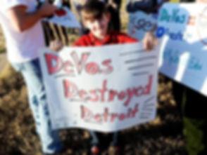 DeVos Destroyed Detroit