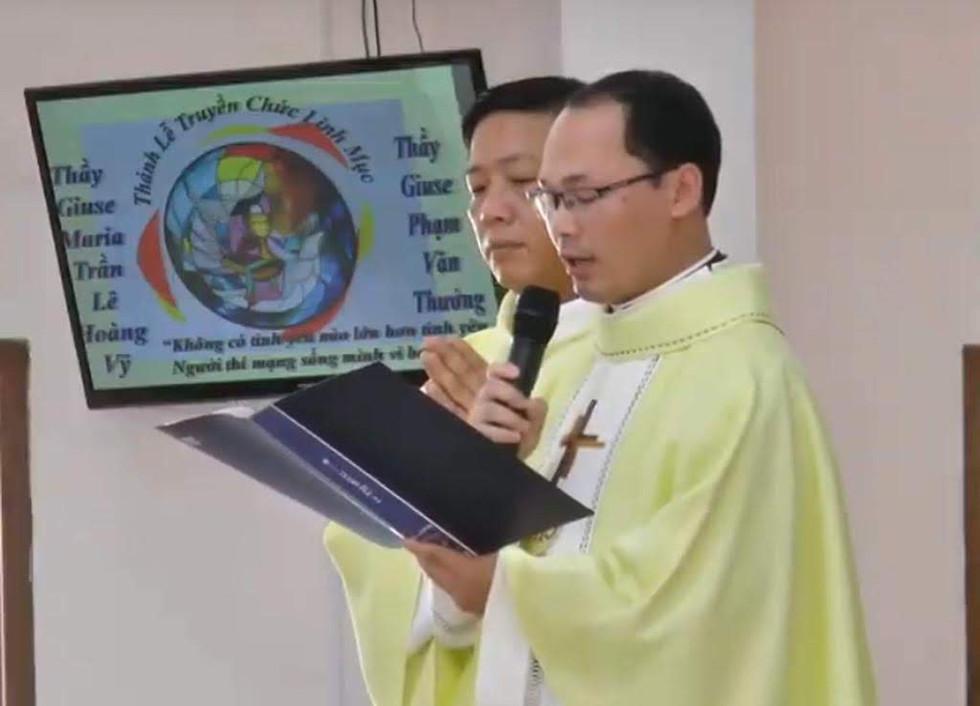 Ordinazione sacerdotale di Giuseppe Maria Vy (Vietnam)