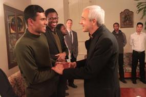 Incontro con Mons. Jorge Carlos Patrón Wong