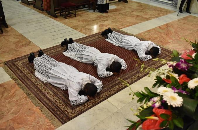 Maggio 2019. Ordinazioni diaconali in rito latino.