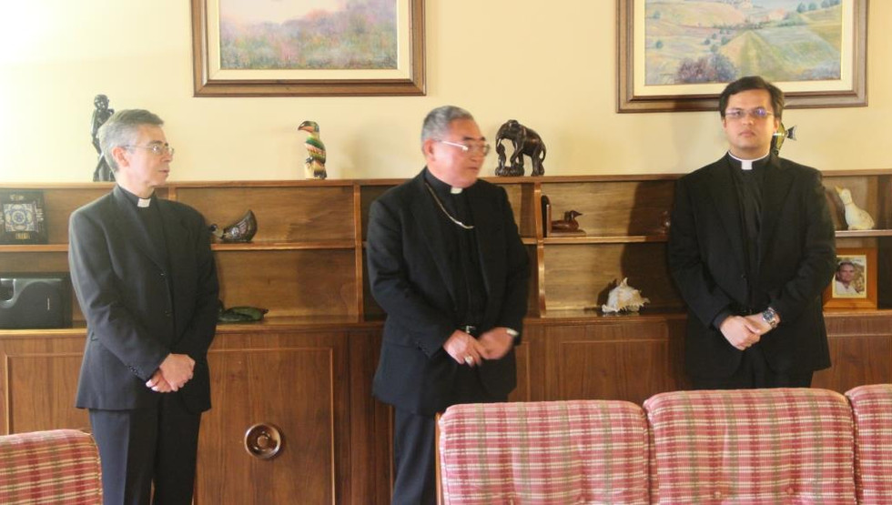 Visita di Mons. Francis Xavier Hiroaki Nakano, vescovo di Kagoshima (Giappone).