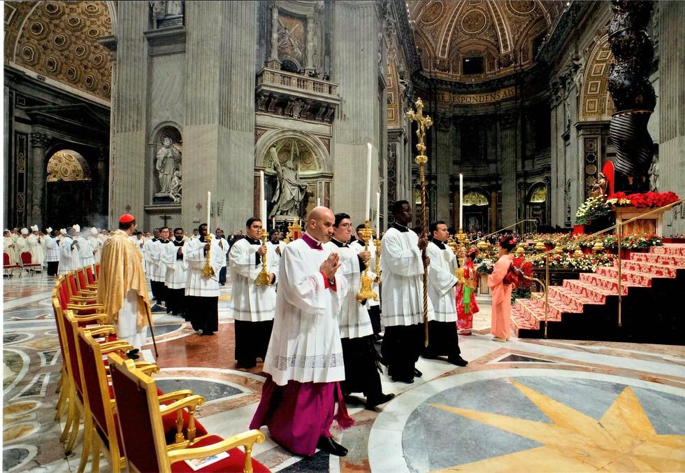 Servizio liturgico. Messa del Santo Natale, 24-XII-2019
