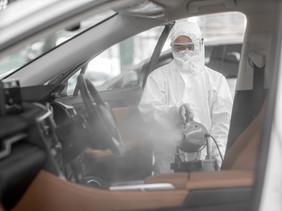 Dezinfekcia motorových vozidiel