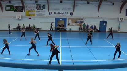 Démo de Zumba pour le club de Handball de Saint Ouen l'Aumone