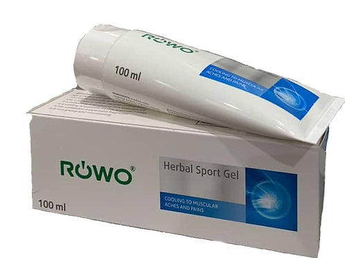 Rowo Herbal Sports Gel  2 by 50ml tubes (100ml) Special price while stock last)