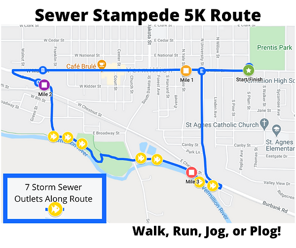 Sewer Stampede Route.png