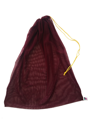 Bolsa chica color vino
