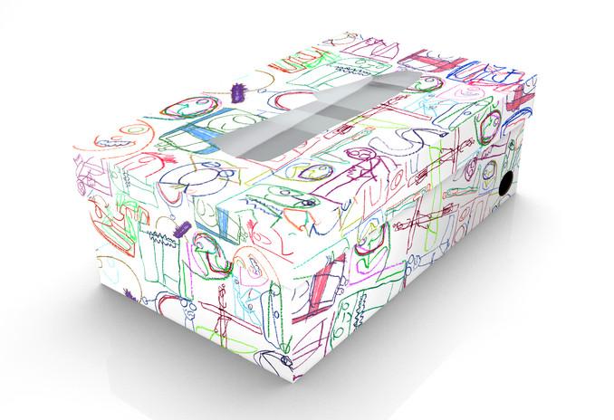 Shoes box design