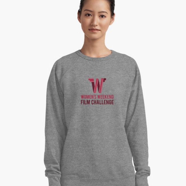 lightweight sweatshirt with full logo