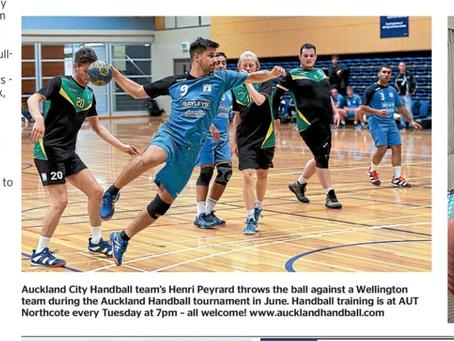 A bright future of Handball in Auckland