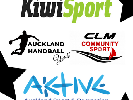 Auckland Handball's Sports Fund Application got accepted by Counties Manukau Local Community Fund