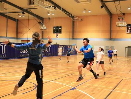First round of Auckland Handball Social League 2021
