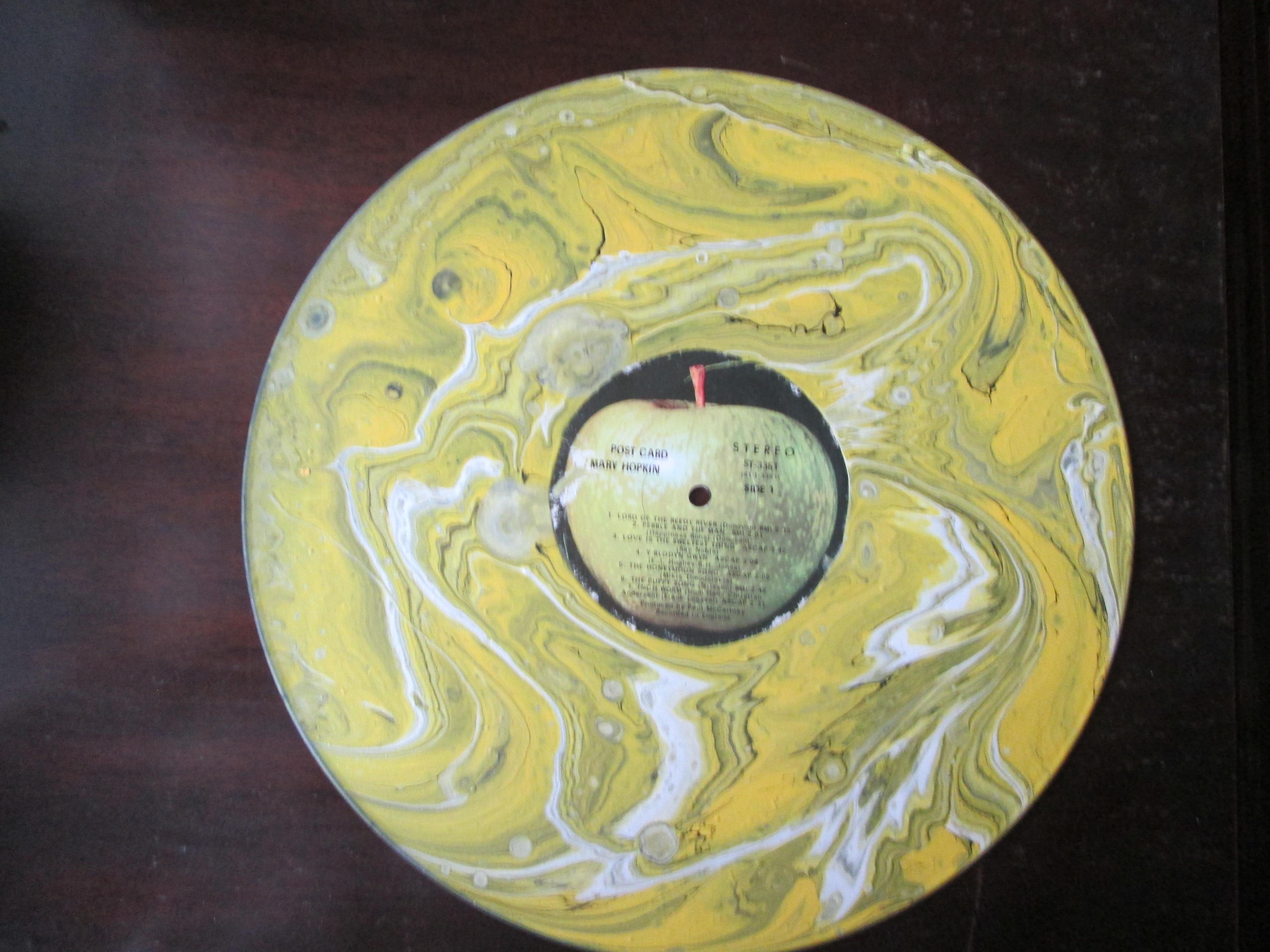 Upcycled Vinyl Record