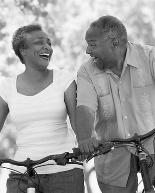 bigstock-Senior-Couple-On-Bicycles-39169