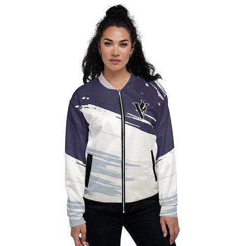 Women's V Flame Bomber Jacket