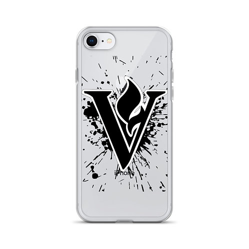 V Flame Paint iPhone Case (fits iPhone 5-11)