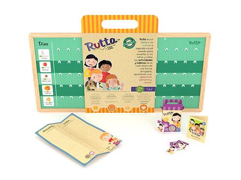 Rutta - Kit semana básico (tablero + 45 fichas básicas)