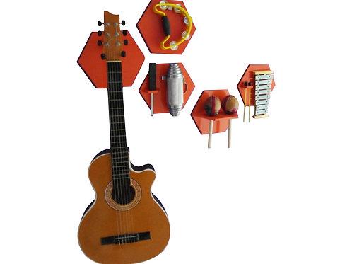 Soportes de pared para instrumentos musicales
